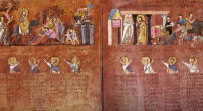 Miniatura - Codex Purpureus Rossanensis